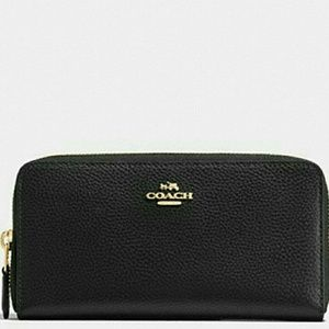 💚NEW WITH TAGS}●AUTHENTIC COACH LEATHER WALLET 💚